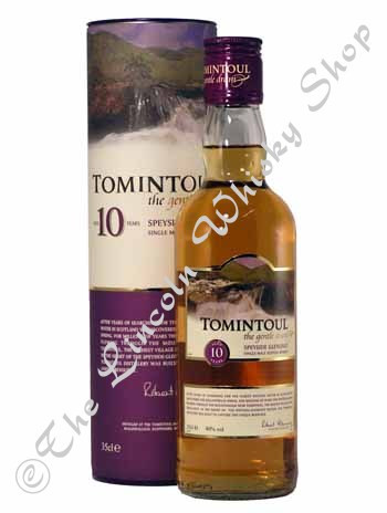 Tomintoul 10year old 35cl