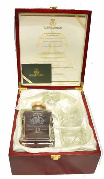 Glenglassaugh Aged Over 40 Years – Rare Cask Series