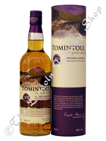 Tomintoul 10year old