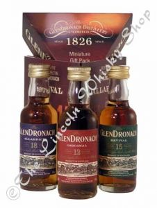 Glendronach Triple Pack 3x5cl