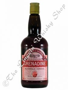 Old English Grenadine/ Alcoholic