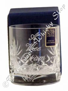 "4oz ""A Wee Dram""  Double Tot Glass"