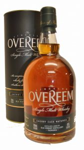 Overeem Sherry Cask Finish Cask Strength Single Malt
